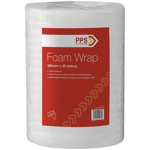Pack Post Send 300mm x 25m Foam Wrap