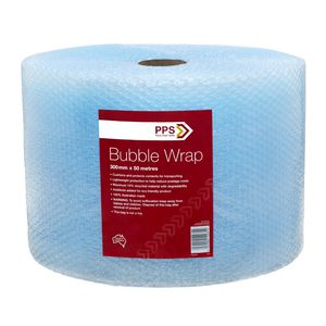PPS 300mm Wide Bubble Wrap Roll 50 Metres