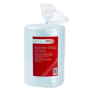 PPS 375mm Wide Bubble Wrap Roll 25 Metres