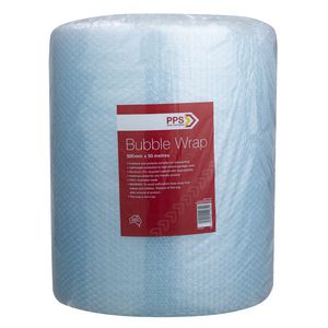 PPS 500 mm Wide Bubble Wrap Roll 50 Metres