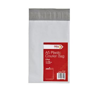 PPS A5 Plastic Courier Bag 50 Pack