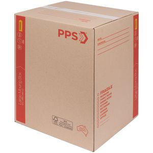 PPS Store Carton with Handles Large 431 x 406 x 596mm