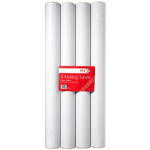 Pack Post Send Mailing Tubes 40 x 325mm 4 Pack