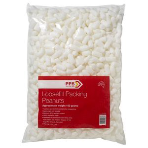 PPS Loosefill Packing Peanuts 100g