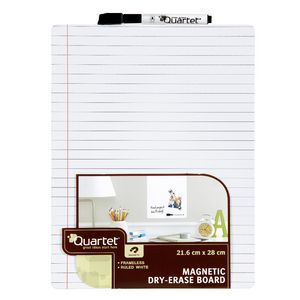 Quartet Magnetic Ruled To-Do List Board White