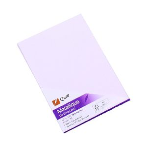 Quill Metallique C6 Envelopes Moonstone 10 Pack