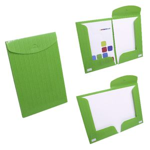 Document Box File Fold Out A4 and A3 Green
