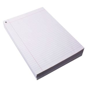 Quill A4 Exam Paper with Red Margin 500 Sheets