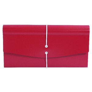 Expanding File Receipt Size 13 Pocket Red