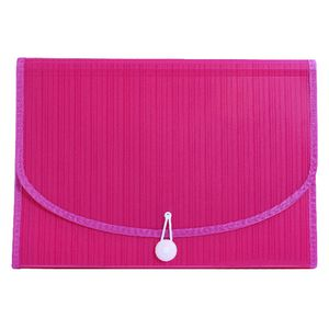 Expanding File A4 13 Pocket Pink