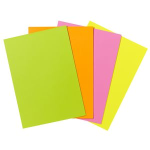 Quill XL MultiPaper 80gsm A4 Fluoro Assorted 100 Pack