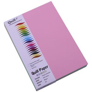 Quill XL MultiPaper 80gsm A5 Assorted Pastels 250 Pack