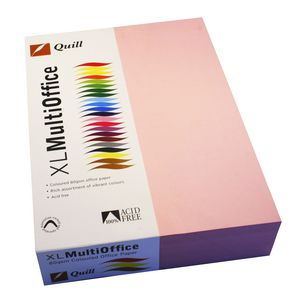 Quill Coloured Paper 80gsm A4 Musk 500 Sheet Ream