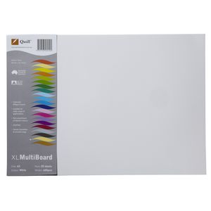 Quill XL MultiBoard 600gsm A3 White 25 Pack