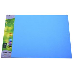 Quill Board 210gsm A3 Brights Assorted 15 Pack