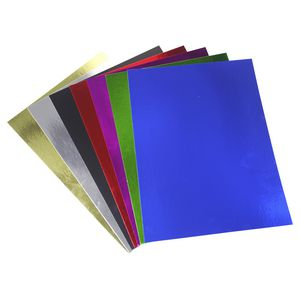 Quill 250gsm 508 x 630mm Foilboard Assorted Colours 50 Pack