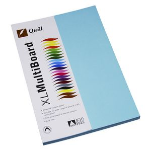 Quill XL MultiBoard 210gsm A4 Powder 50 Pack