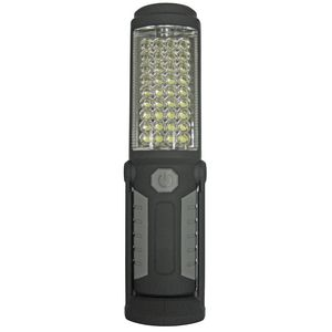 LED Dual Mode Work Light Black and Grey