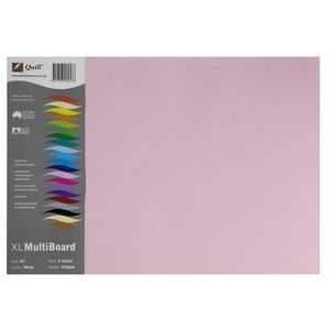 Quill XL MultiBoard 210gsm A3 Musk 5 Pack