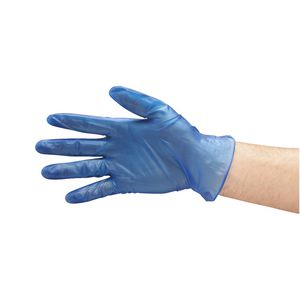 Pro-Val Foodie Gloves Medium Blue 100 Pack