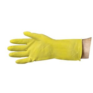 Pro-Val Flocklined Gloves Medium Yellow 12 Pack