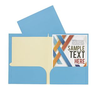 Report Cover A4 Matte Laminate Blue