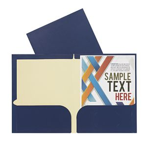 Report Cover A4 Matte Laminate Navy