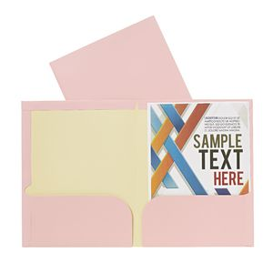 Report Cover A4 Matte Laminate Pale Pink