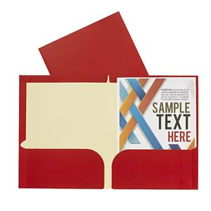 Report Cover A4 Matte Laminate Red