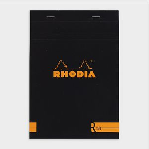Rhodia No. 16 Premium Lined Notepad Black