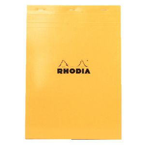 Rhodia No. 18 A4 Graph Pad Orange