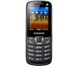 Samsung E3300 Outright Mobile Phone Black