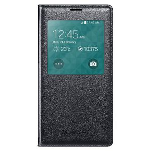 Samsung S-View Galaxy S5 Flip Cover Black