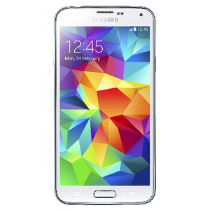 Samsung Galaxy S5 Mobile Phone White