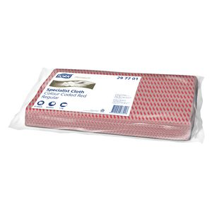 Tork Light Cleaning Cloth Red