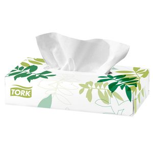 Tork Premium 2 Ply Facial Tissues 100 Sheets