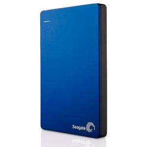 Seagate 1TB Backup Plus Slim Portable Hard Drive- Blue