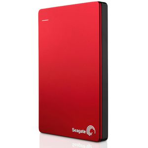 Seagate 1TB Backup Plus Slim Portable Hard Drive Red