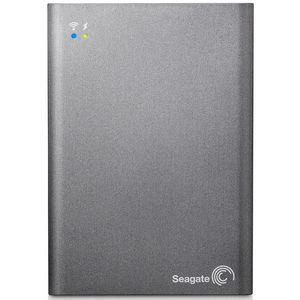 Seagate  Wireless Plus 1TB Portable Hard Drive Grey