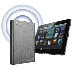 Seagate 2TB Wireless Plus Portable Hard Drive