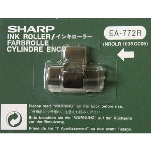 Sharp EA-772R Ink Roller Red & Black 5 Pack