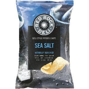 Red Rock Deli Sea Salt Chips 165g
