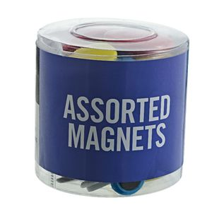 J.Burrows Magnets Assorted 50 Pack