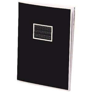 Semikolon Exercise Book A6 Black