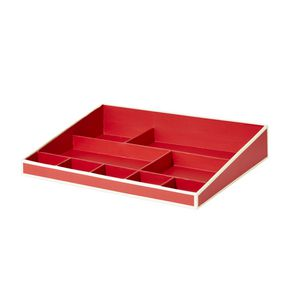 Semikolon Desk Organiser Red