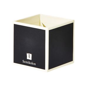 Semikolon Pencil Box Black