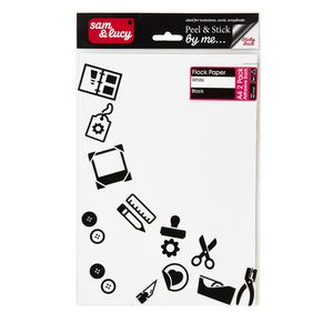 Sam and Lucy Flock Paper Assorted 2 Pack