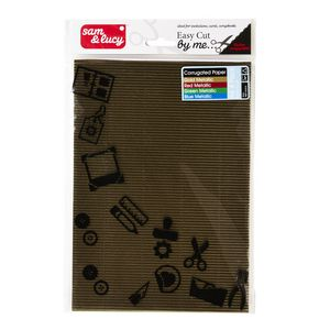 Sam and Lucy Corrugated Paper Assorted 4 Pack