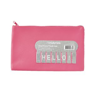 Studymate Name Pencil Case Small Pink