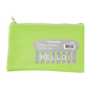 Studymate Name Pencil Case Small Lime